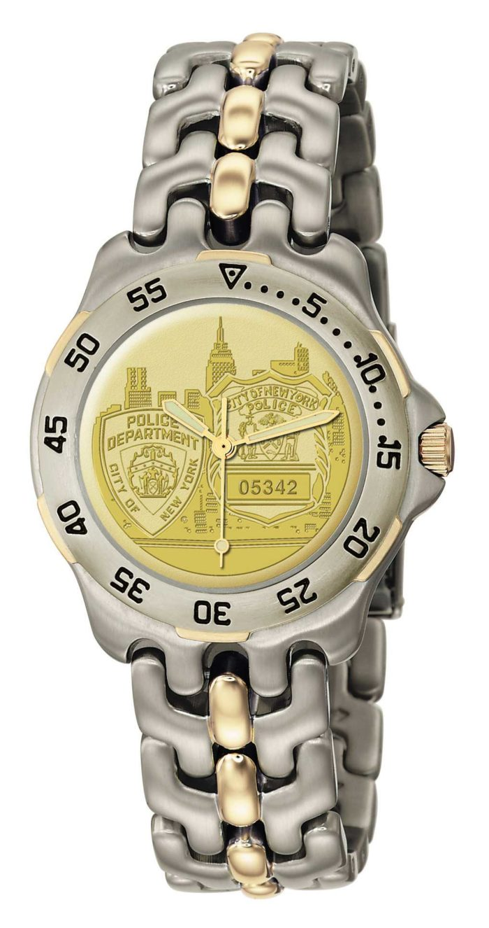 Mens NYPD PO Watch - GSS4916A410 1