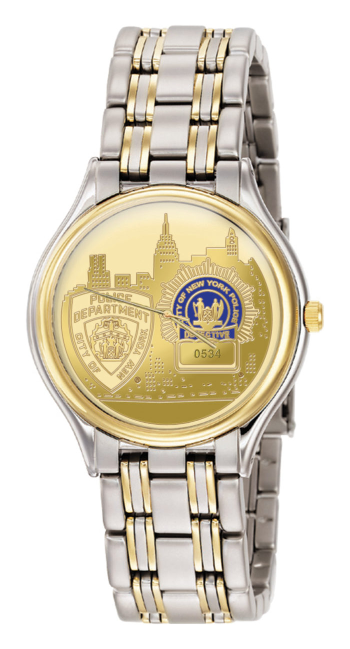 Mens NYPD Detective Watch - GSS2816410 1