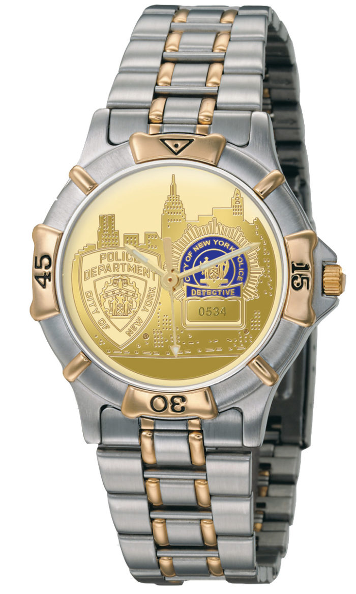 Mens NYPD Detective Watch - GSS3636410 1