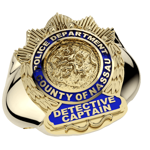 Nassau County PD Detective Captain Ring 1