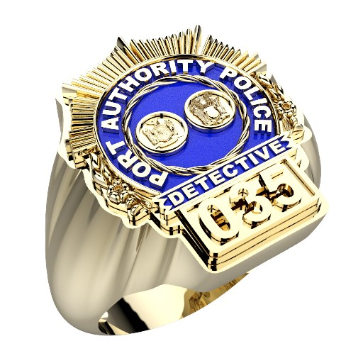 Port Authority Detective Ring 1