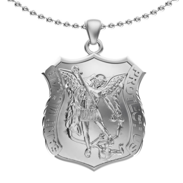 Saint Michael Pendant and Chain