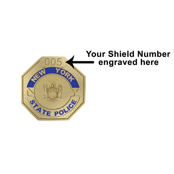 New York State Trooper Family Shield 2