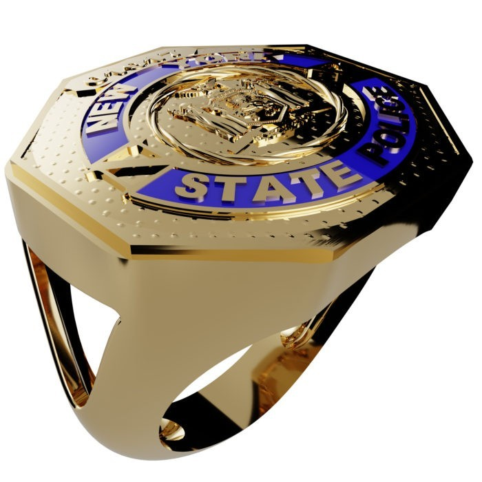 Women's New York State Police Ring 1