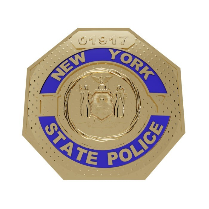 Men's New York State Police Ring 5