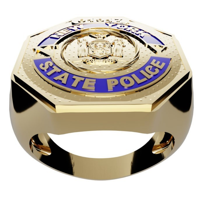 Men's New York State Police Ring 2