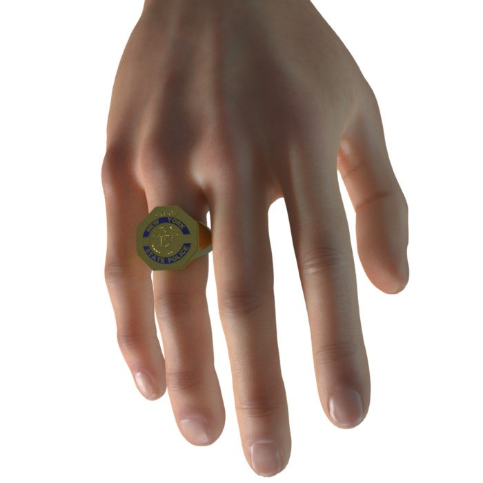 Men's New York State Police Ring 6