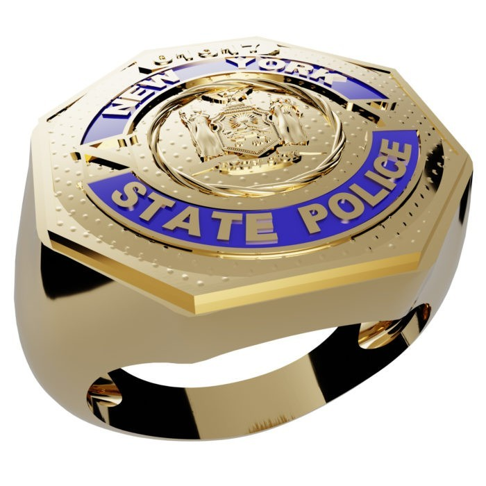 Men's New York State Police Ring 1